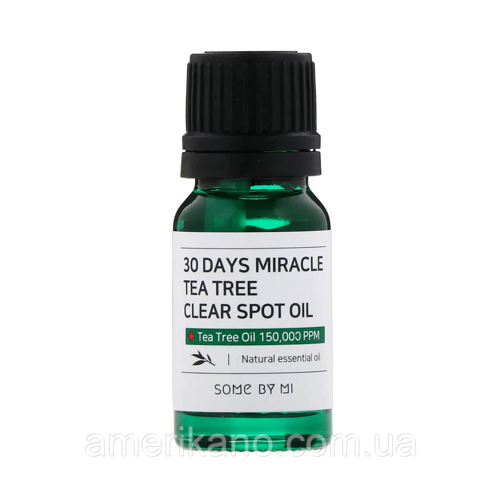 Масло для лица SOME BY MI 30 Days Miracle Tea Tree Clear Spot Oil, 10 мл