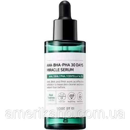 Кислотная сыворотка для проблемной кожи SOME BY MI AHA, BHA, PHA 30 Days Miracle Serum, 50 мл
