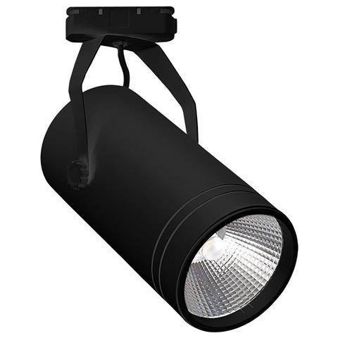 Светодиодный трековый светильник Bern 30W 4200K черный