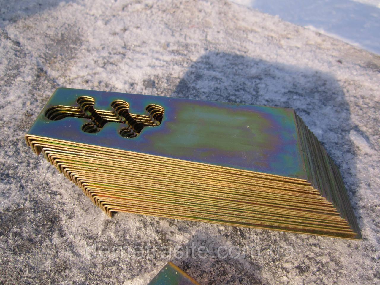 Задвижка к сеялке зерновой СЗ-5,4 СЗГ 00.4066 (гальваника)