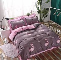 Комплект постельного белья полуторный сатин, 100% хлопок. (арт.12370)
