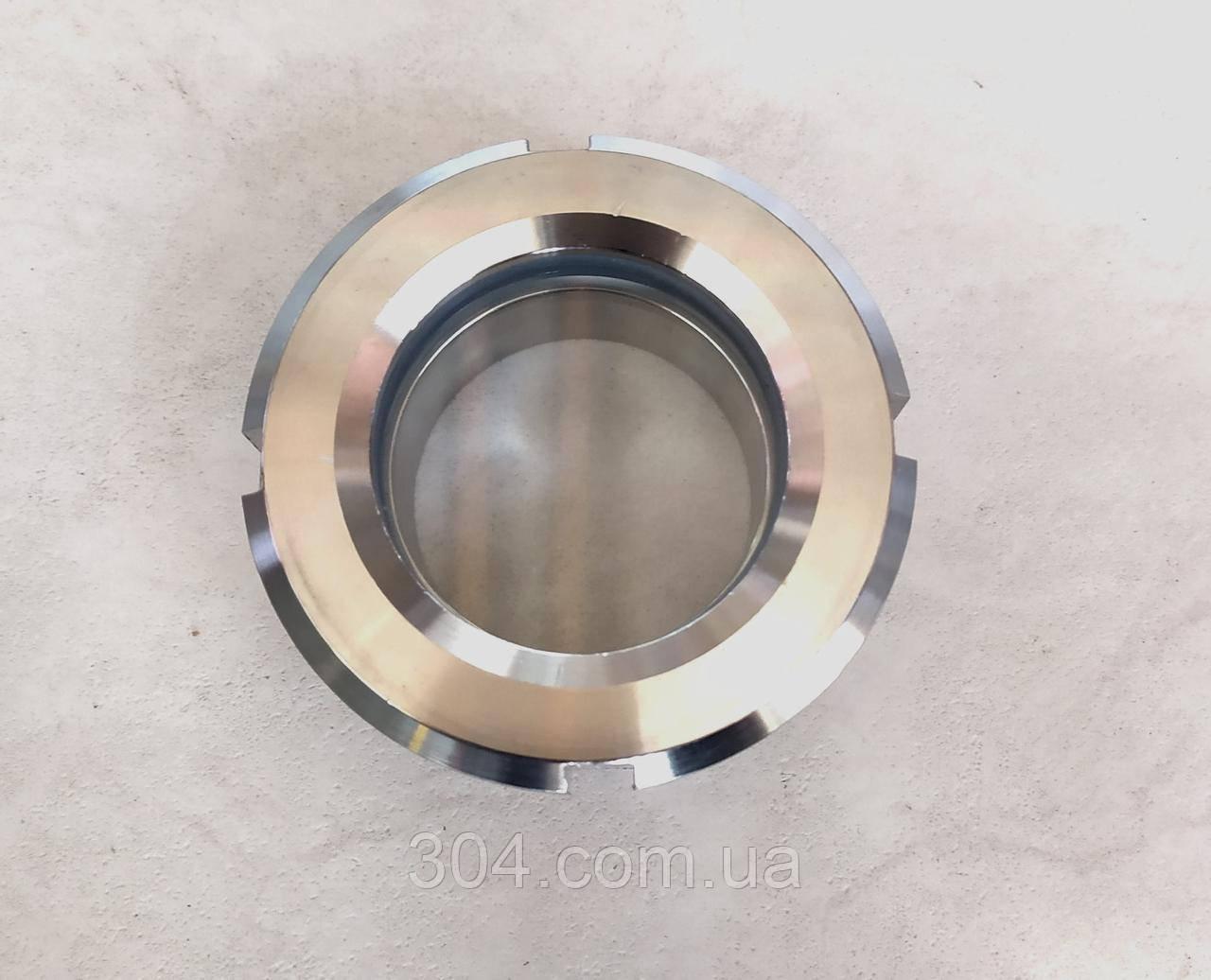 Диоптр плоский (Окно смотровое)DN76, AISI 304