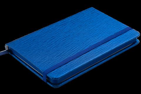 Блокнот у клітинку на резинці Buromax INGOT 95 x 140 мм 80 аркушів синій