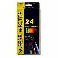 Олівці кольорові MARCO Superb Writer 24 кол, шестигранні