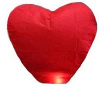 Небесный фонарик Сердце ГИГАНТ (1,4м)