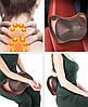 Роликовый массажер для спины и шеи Massage pillow GHM 8028, массажная подушка, массажер с подогревом, фото 6