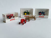WIKING 8930131 Hanomag Agricultural Tractor W/ Wooden  / 1:87