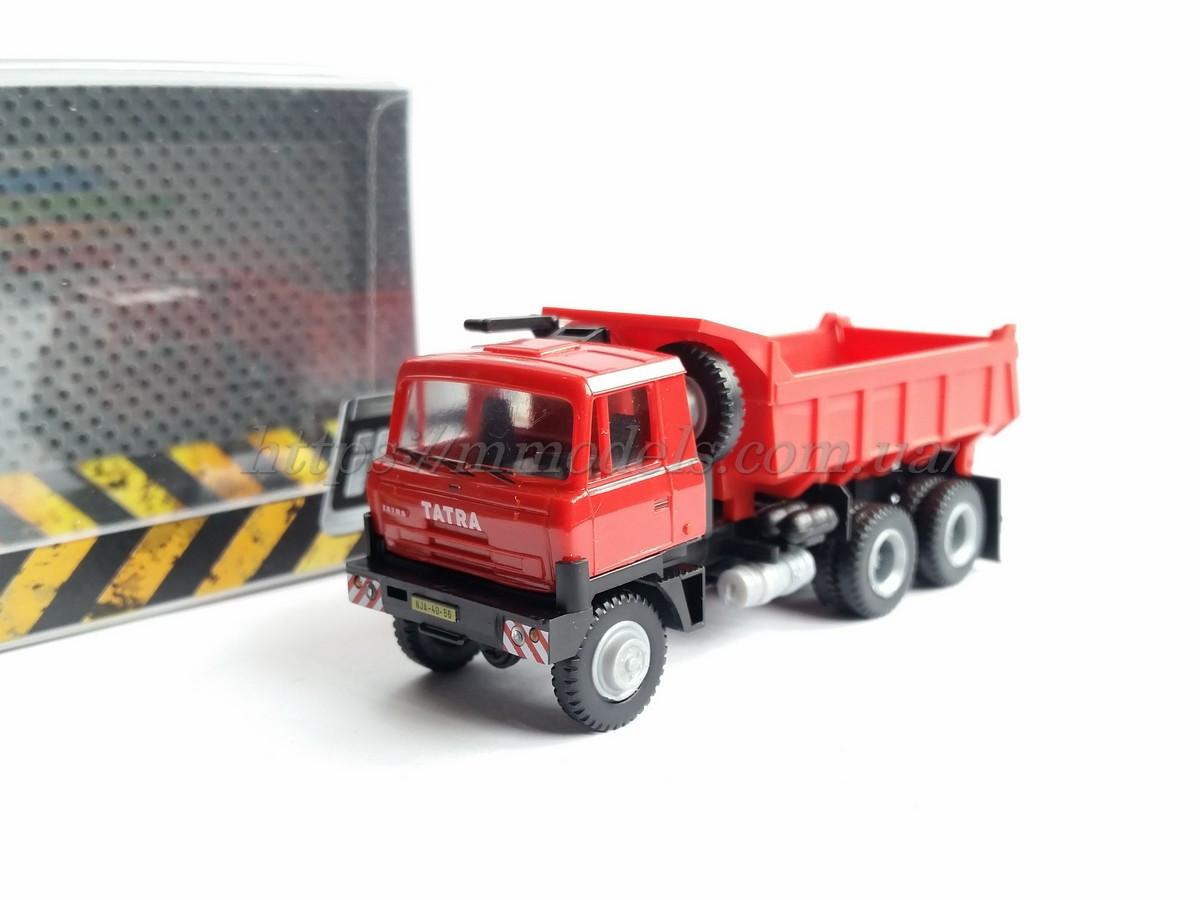 Igra 8004 грузовой автомобиль  TATRA 815 6x6 S3 rouge 1/87