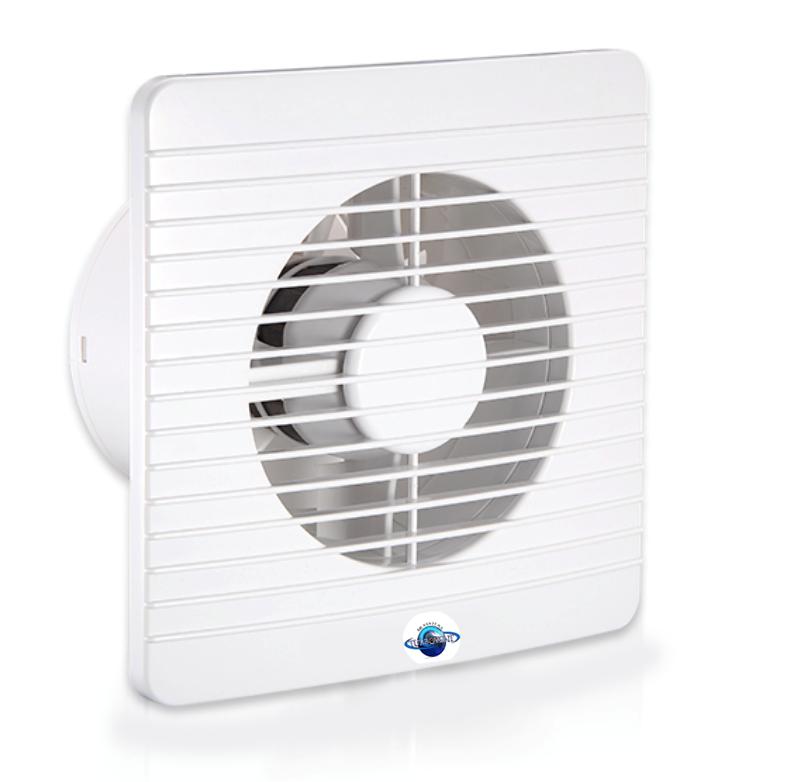 Осьовий витяжний вентилятор Турбовент 125 З