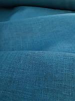 "Льняная легкая ткань Батист ""Грозовой синий"", фото 1"