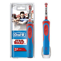 Детская электрическая зубная щетка Braun Oral-B D12. 513 Stages Power (для мальчика), StarWars