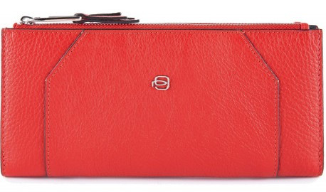 Кожаный кошелек Piquadro pd4861mur r,  женский, красный