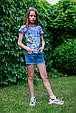 Детские шорты для девочки TIFFOSI Португалия 10026749 Синий, фото 3