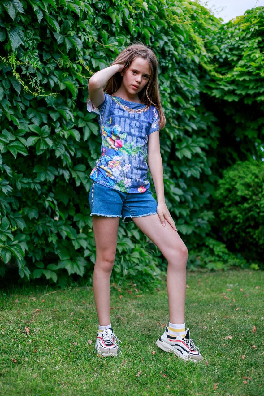 Детские шорты для девочки TIFFOSI Португалия 10026749 Синий