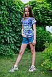 Детские шорты для девочки TIFFOSI Португалия 10026749 Синий, фото 4