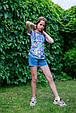 Детские шорты для девочки TIFFOSI Португалия 10026749 Синий, фото 5