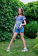 Детские шорты для девочки TIFFOSI Португалия 10026749 Синий, фото 6