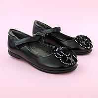 Туфли для девочки Черные тм Том.м размер 28,29,32,33,34,35