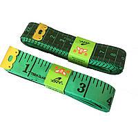 Сантиметр Швейный (дюймы + сантиметры)  длина 2м.