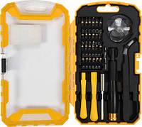 Набор отверток с насадками для ремонта мобильных телефонов 32 шт. Vorel 64384 (Польша)