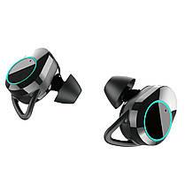 ☀Беспроводные Bluetooth наушники KUMI T3S Black Блютуз 5 LED дисплей влагозащищенные гарнитура с зарядкой ★, фото 2