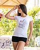 "Белая футболка с принтом ""Ice Cream"", фото 2"