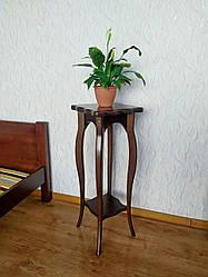 """Напольная подставка для цветов """"Азалия"""" Орех лесной"""
