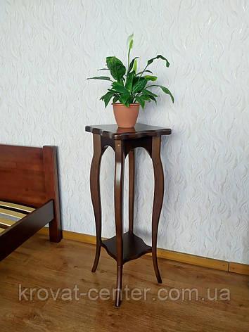 """Напольная подставка для цветов """"Азалия"""" Орех лесной, фото 2"""