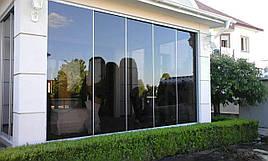 Безрамне скління приватних будинків