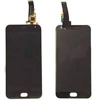 Дисплей для мобильного телефона Meizu M2 / черный / с тачскрином