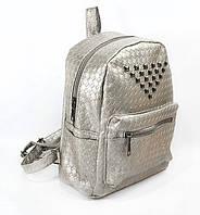 Рюкзак с заклепками Серый (304743)