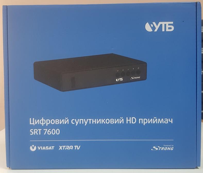 Цифровой спутниковый HD приемник Strong SRT 7600 Viasat Extra TV