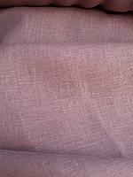 Льняная сорочечная ткань бисквитного цвета, фото 1