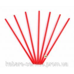 Трубочка ( для мартини) красная USA 13 см 3.3 мм 200 шт