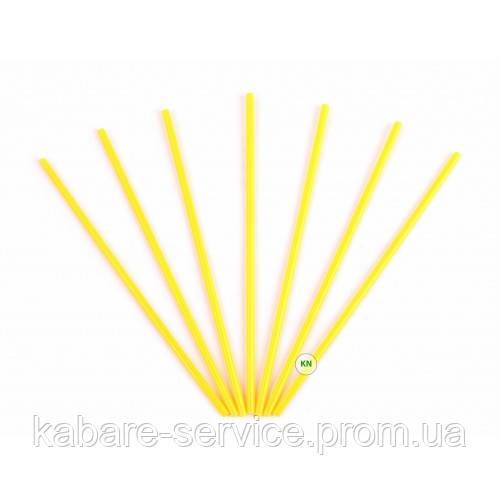 Трубочка (для мартини) желтая USA 13 см 3.3 мм 200 шт