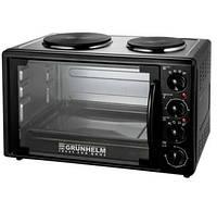 Электрическая печь-плита с грилем Grunhelm GN33AH 1600Вт