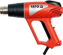 Фен технический 2 кВт 550°C с аксессуарами YATO YT-82291 (Польша)