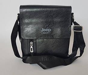 Сумка планшет «JEEP» через плечо среднего размера (25*23 см)
