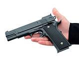 Страйкбольный пистолет Браунинг G20+ с кобурой (Browning HP), фото 4