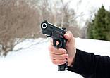 Страйкбольный пистолет Браунинг G20+ с кобурой (Browning HP), фото 5