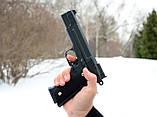 Страйкбольный пистолет Браунинг G20+ с кобурой (Browning HP), фото 7