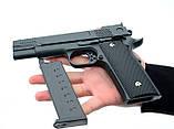 Страйкбольный пистолет Браунинг G20+ с кобурой (Browning HP), фото 10