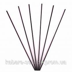 Трубочка (для мохито) черная USA 26 см 3 мм 300 шт