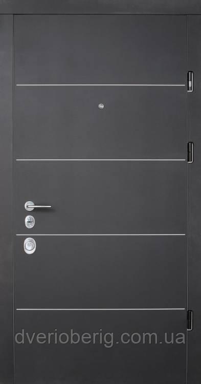 Вхідні двері Страж Соло Престиж венге темний