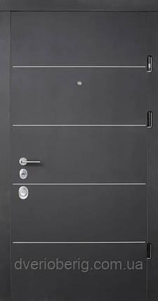 Вхідні двері Страж Соло Престиж венге темний, фото 2