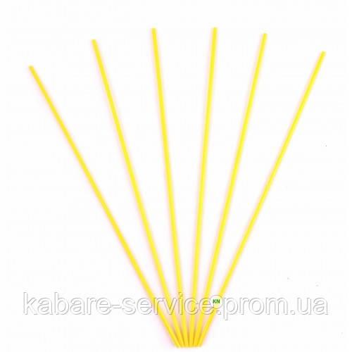 Трубочка (для мохито) желтая USA 26 см 3 мм 300 шт