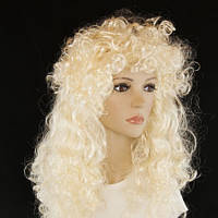 Парик кудрявый блонд
