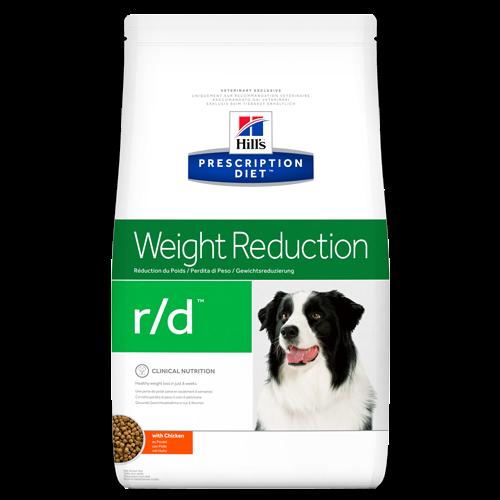 Hill's Prescription Diet Canine R/D лікувальний корм для собак з надмірною вагою 12 кг