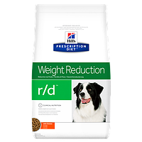 Hill's Prescription Diet Canine R/D лікувальний корм для собак з надмірною вагою 12 кг, фото 1