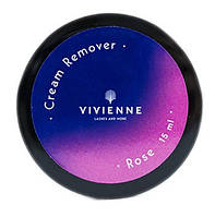 Ремувер кремовый  VIVIENNE 15мл. розовый